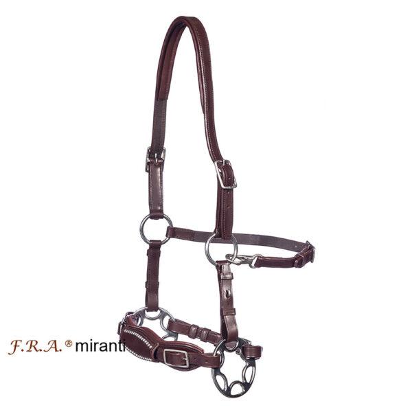 F.R.A Freedom Riding Articles F.R.A. Miranti hackamore (System 2) læder, kæberem m. scissors.