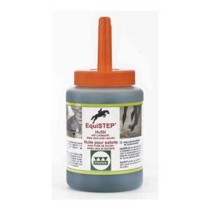 Stassek Equistep Hoof Oil med børste, 450 ml