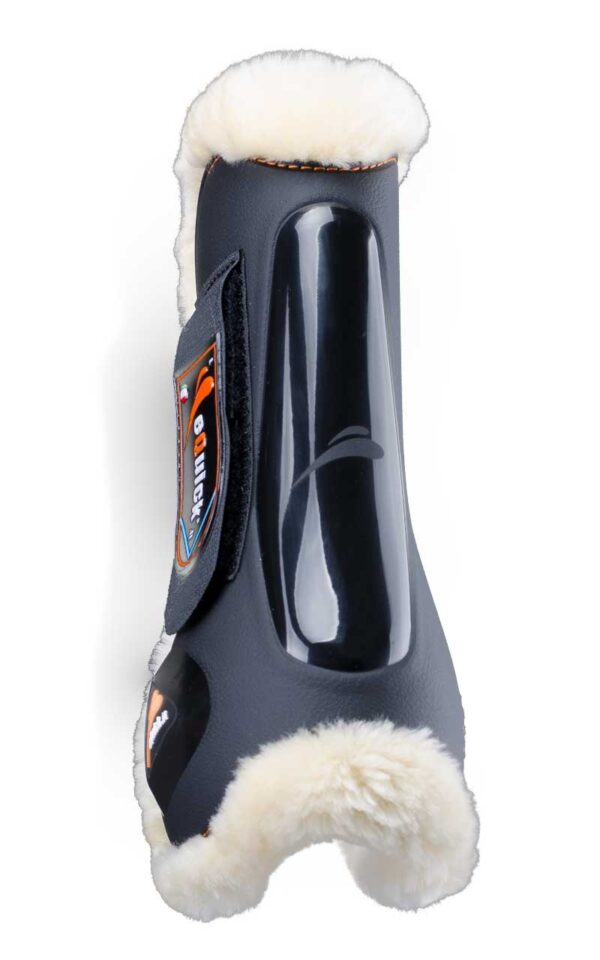 equick eLight spring gamacher med lam forben sort